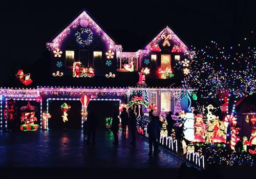 Christmas Light Shows around the NC Western Piedmont