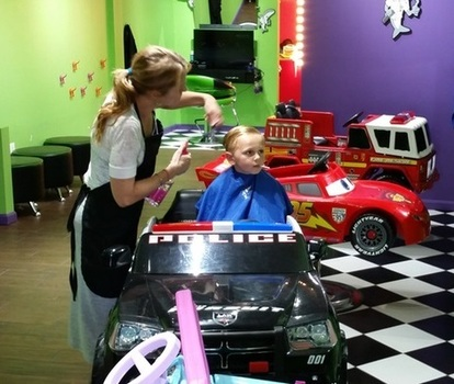A Special Afternoon For Special Needs At Sharkeys Cuts For Kids