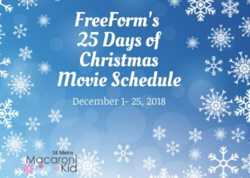 Freeform Christmas Schedule.Freeform S 25 Days Of Christmas Movie Schedule