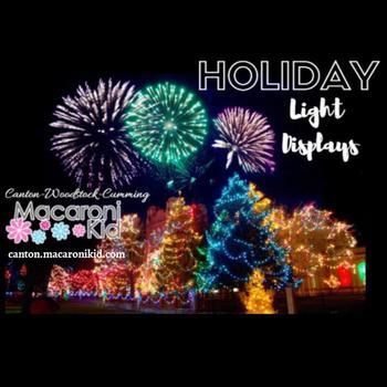 Top Holiday Light Displays in Atlanta
