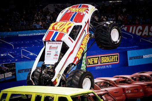 Giveaway 4 Pack Of Tickets To Hot Wheels Monster Truck Live