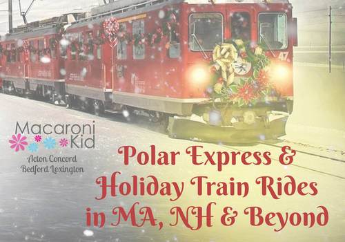 6250b3f15c Polar Express   Holiday Train Ride Guide for MA