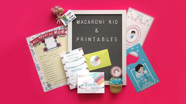 Introducing Macaroni Kid Printables