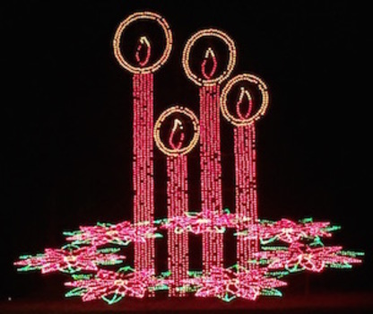 CHRISTMAS LIGHT DISPLAYS: In and Around