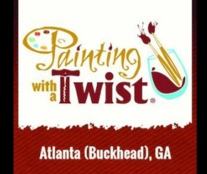 Giveaway Win A 35 Certificate To Painting With A Twist Buckhead