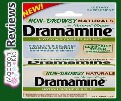 MACARONI KID REVIEWS: NON DROWSY DRAMAMINE®