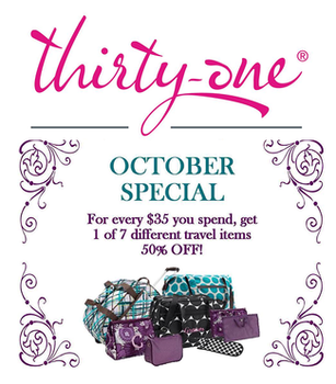 October Specials At Thirty One Gifts Macaroni Kid