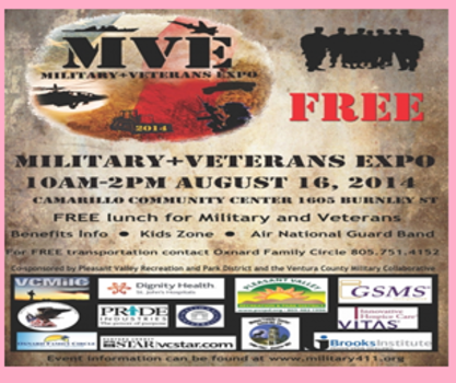 CAMARILLO HOSTS MILITARY AND VETERAN EXPO ON AUG 16