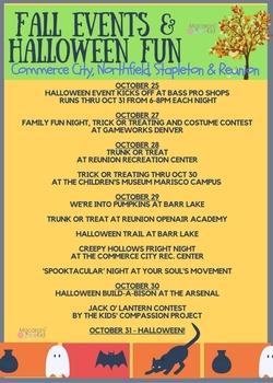 Fall Events & Halloween Fun!