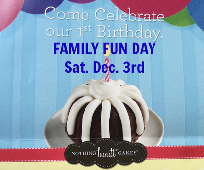 Family Fun Day At Nothing Bundt Cakes