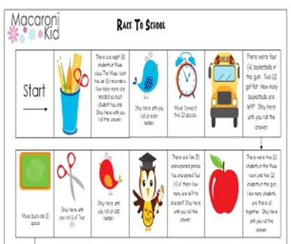 Get Ready For School With Our Race To School Game | Macaroni Kid