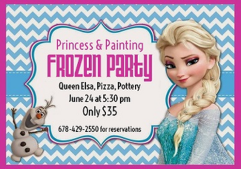 win 2 tickets to the princess painting frozen party macaroni kid