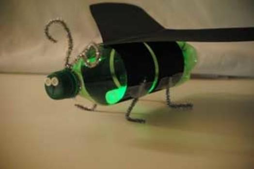 Macaroni Craft Fireflies To Light Up The Night
