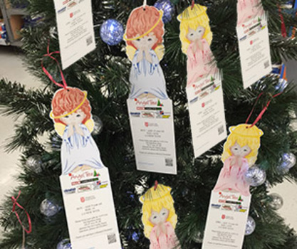 The Salvation Army Angel Tree ~ Give the Gift of Christmas ...
