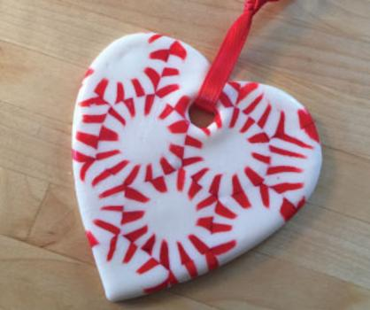 article - Peppermint Candy Christmas Ornaments