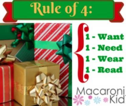 4 present christmas rule