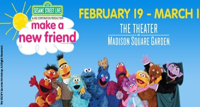Attractive Giveaway: Win 4 Tickets To Sesame Street Live!! Amazing Design