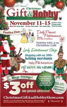 the 66th annual christmas gift hobby show november 11 15 - Christmas Gift And Hobby Show