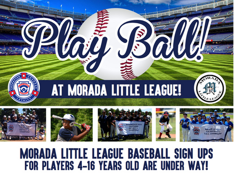 Morada Little League Sign-Ups | Macaroni Kid