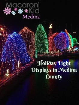christmas light displays in medina county