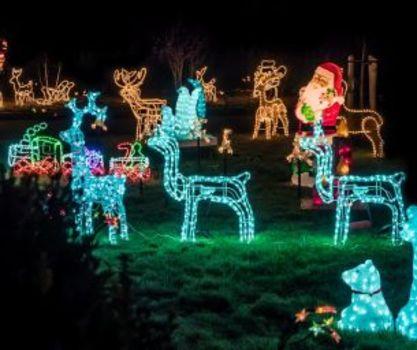Massachusetts Christmas Lights Sightings