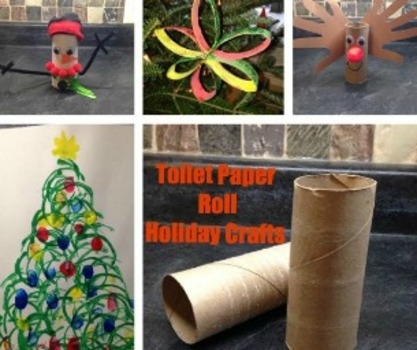 4 Toilet Paper Roll Holiday Crafts Macaroni Kid