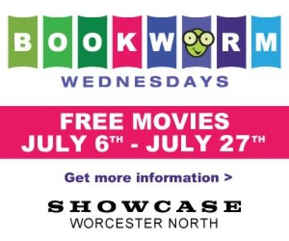 Bookworm Wednesdays Showcase Cinemas Worcester North Macaroni Kid