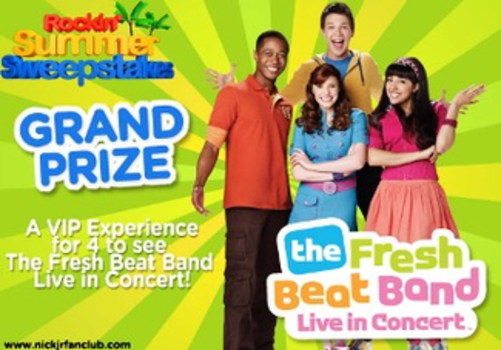 Fresh Beat Band Rockin' Summer Sweepstakes!