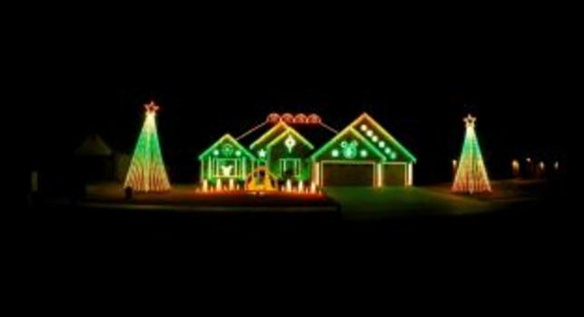 bentonville heart lights must see animated christmas lights