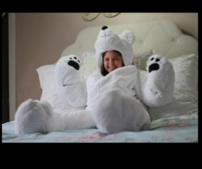 Snoozzoo The First All In One Stuffed Animal Sleeping Bag