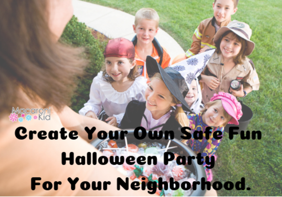 Create Your Own Safe Fun Halloween Party For Your Neighborhood