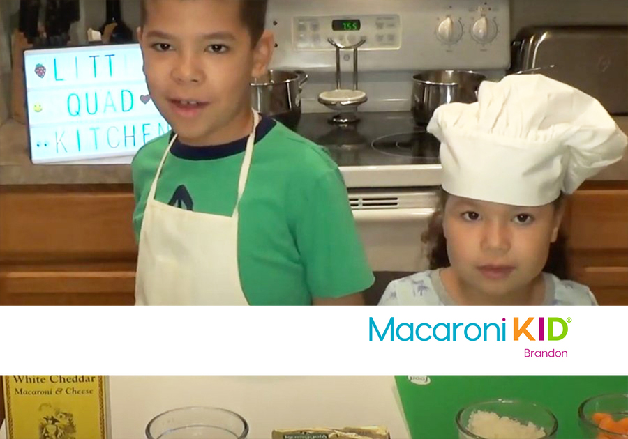 Adding veggies in Mac and Cheese for picky eaters