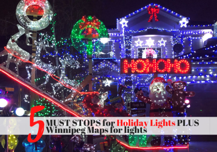 Winnipeg Holiday Lights