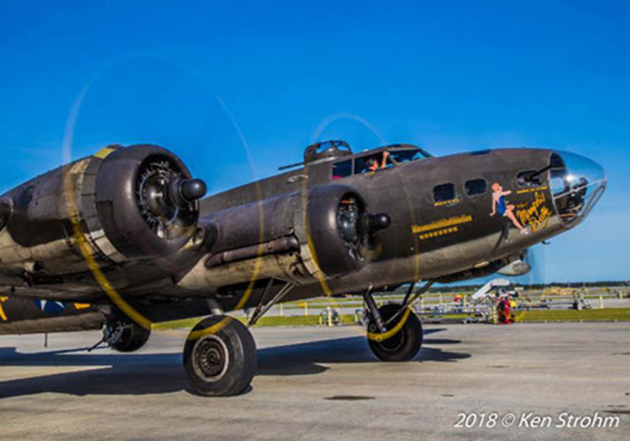 Stuart Air Show B-17