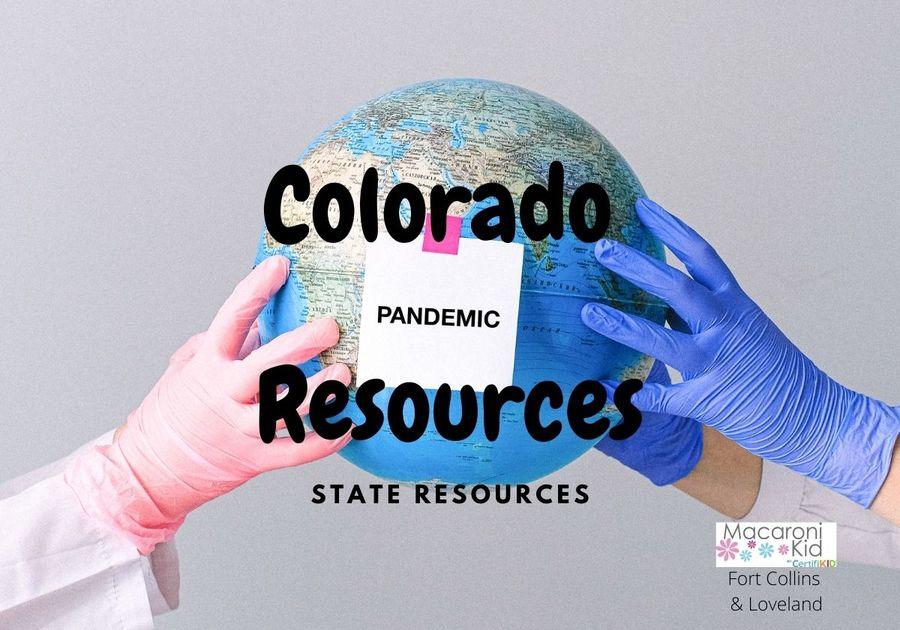 Colorado Pandemic Resources