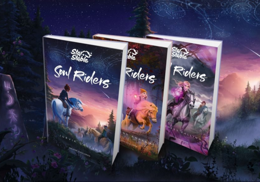 images of Star Stable Soul Riders three book series
