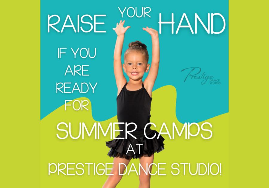 Prestige Dance Studio Cedar Rapids Summer Camps