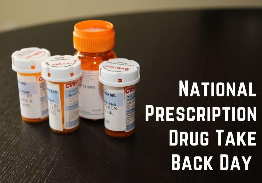 National Prescription Drug Take Back Day