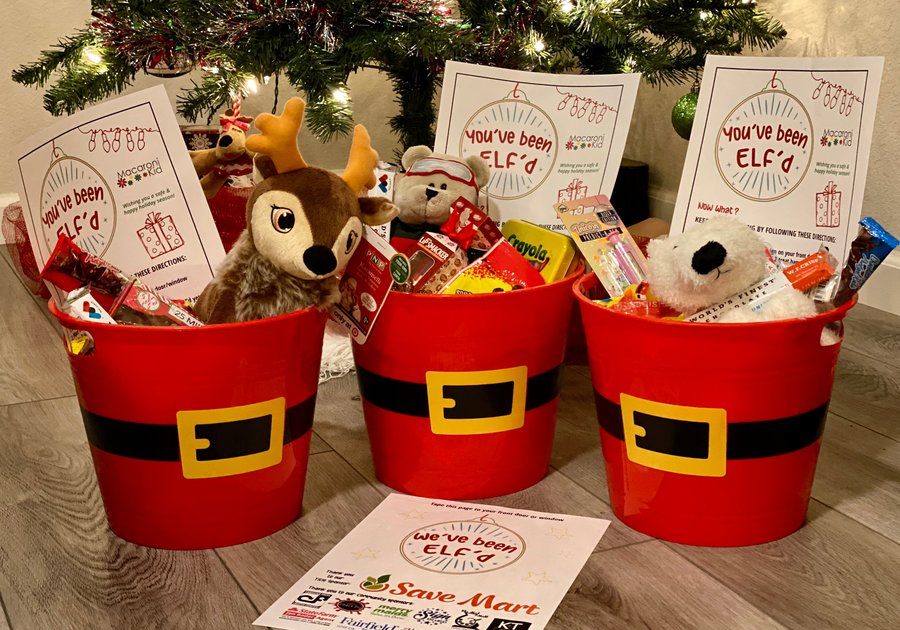 Elf Holiday Baskets