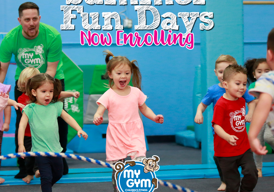 Summer Fun Days at My Gym in Cohasset and Norwell MA