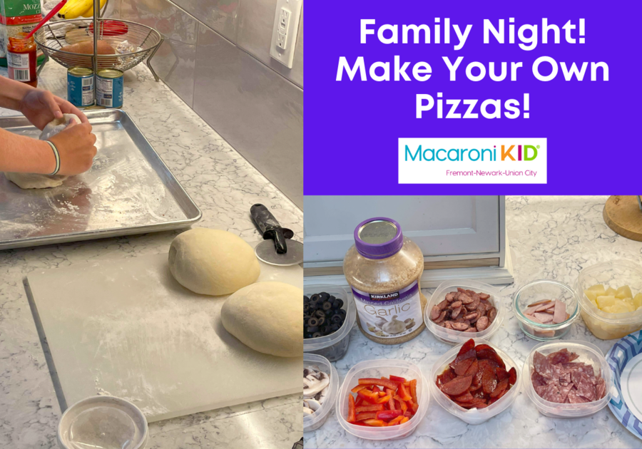 Family Night! Make Your Own Pizzas