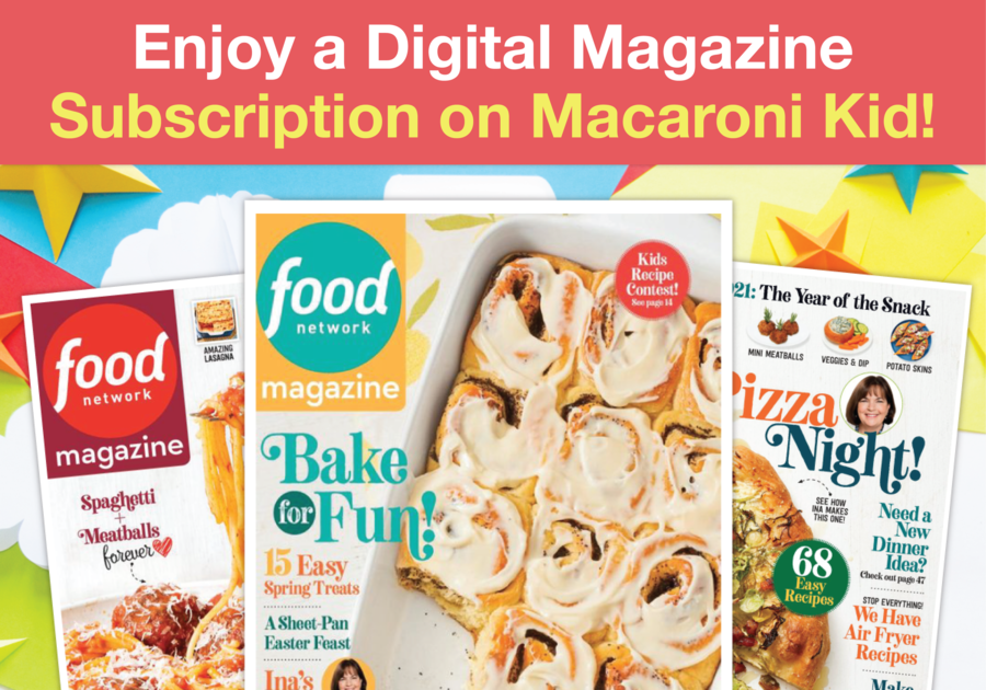 Digital Magazine offer for Canadian publishers -- Food Network Magazine