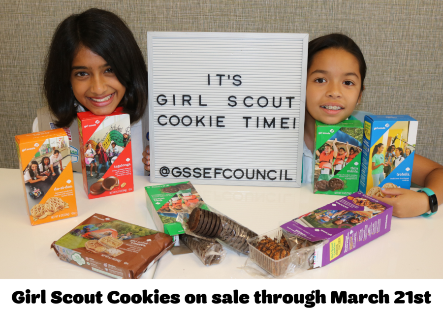 Girl Scouts of Southeast Florida Cookie Sales Time