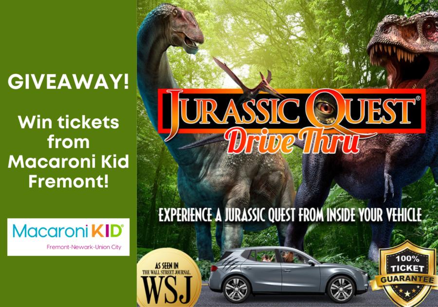 Jurassic Quest Drive-Thru in San Jose