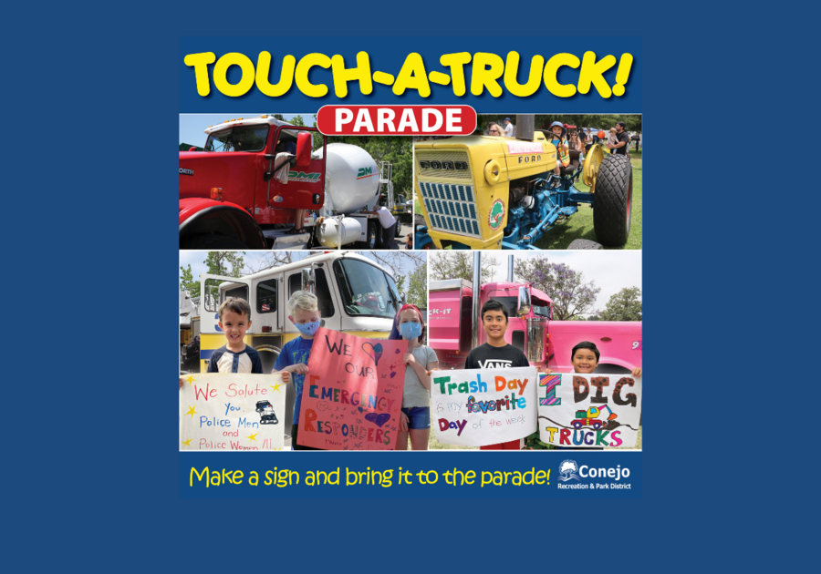 CRPD Touch a Truck Parade