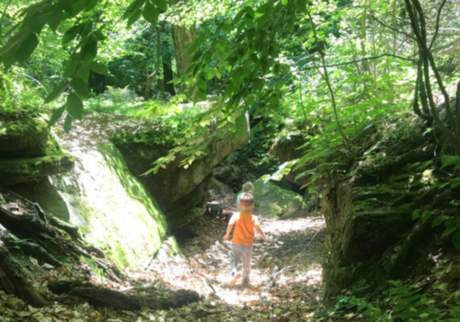 Panama Rocks just 40 minutes from Erie PA