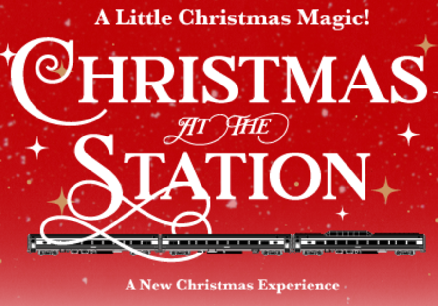 Railroad Museum, Christmas, Calera, Alabama