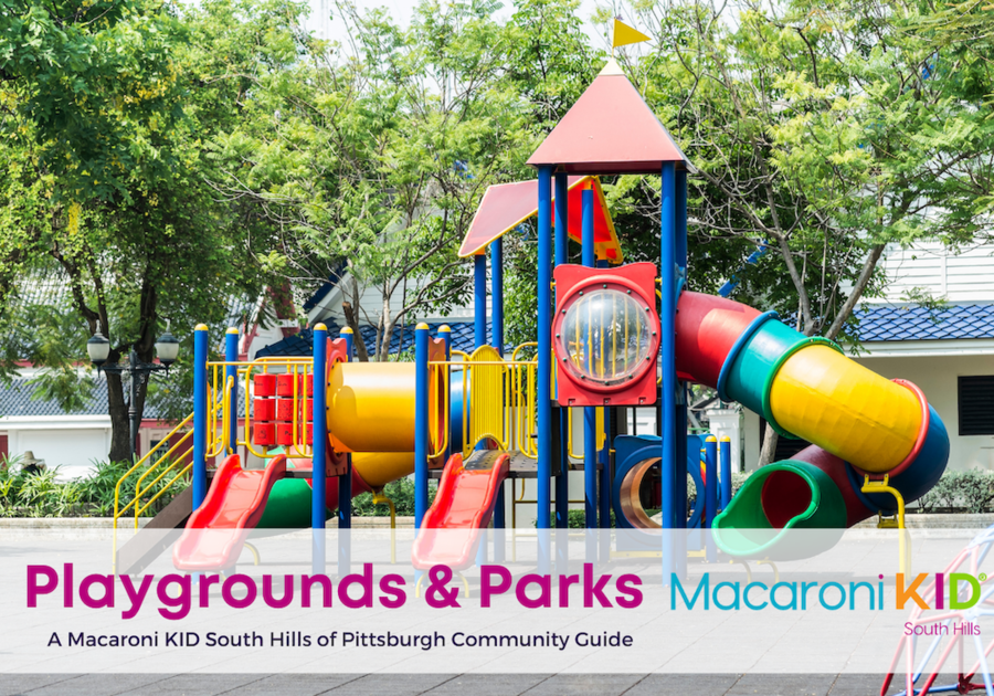 Pittsburgh Playgrounds and Parks in the South Hills of Pittsburgh