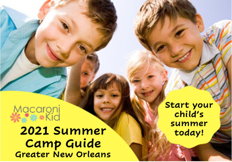 2021 Summer Camps In And Around New Orleans Macaroni Kid New Orleans