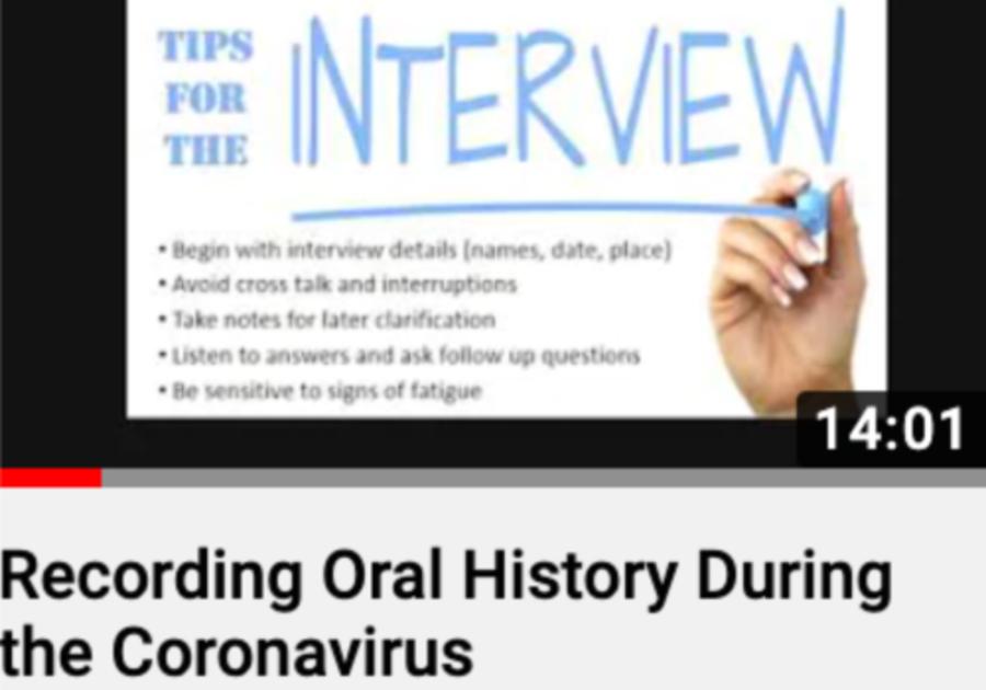 Recording Oral History Ligonier Valley Historical Society